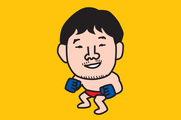 桜庭和志 イラスト似顔絵