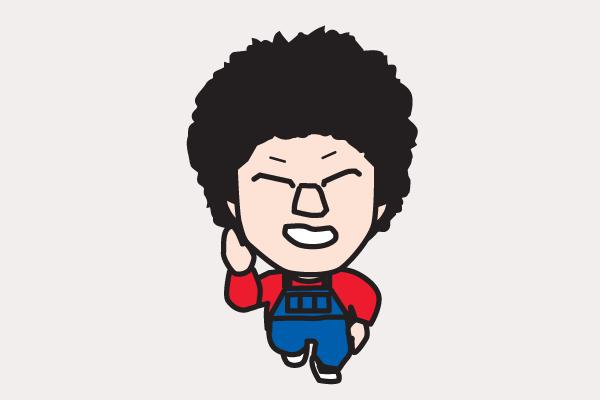 阿部サダヲ イラスト似顔絵