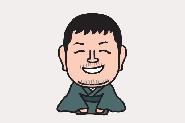江原啓之 イラスト似顔絵