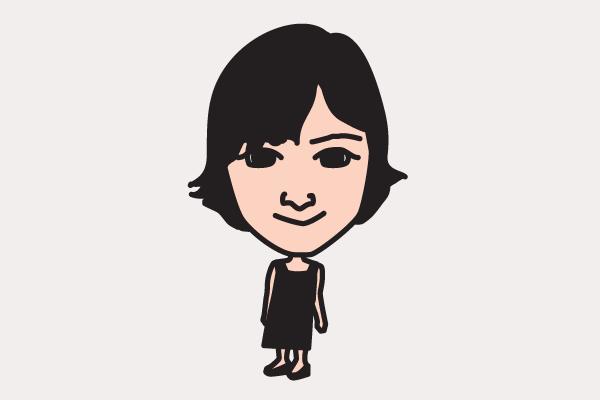 広末涼子 イラスト似顔絵
