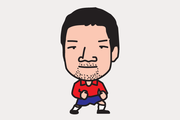 廣山望 イラスト似顔絵