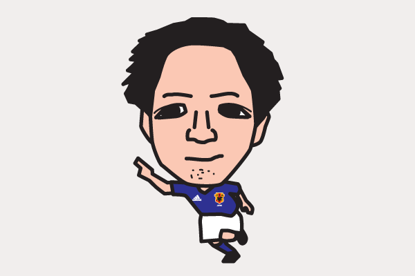 小野伸二 イラスト似顔絵