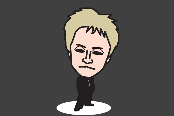 ヒロシの似顔絵画像