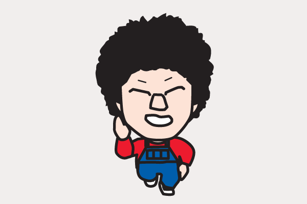 阿部サダヲの似顔絵画像