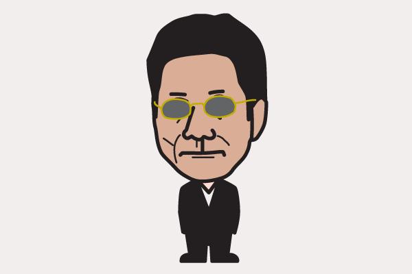 北野武の似顔絵画像