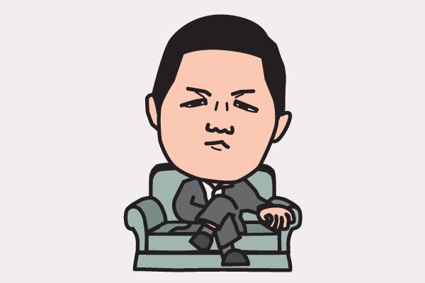 前田日明の似顔絵画像