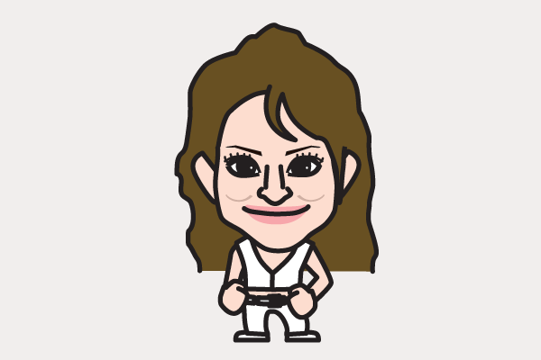 松田聖子の似顔絵画像