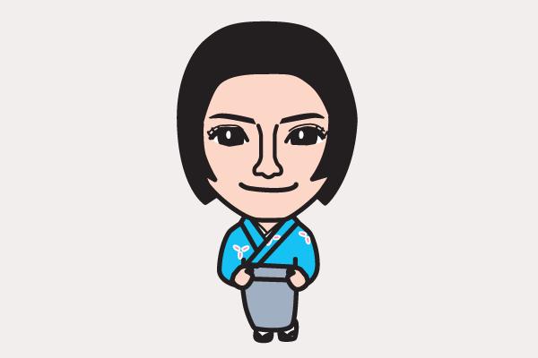 仲間由紀恵 功名が辻の似顔絵画像