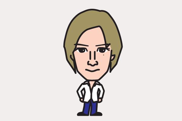 滝沢秀明の似顔絵画像