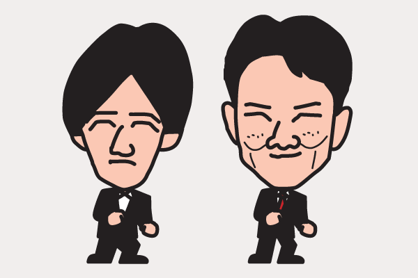 ウッチャンナンチャンの似顔絵画像